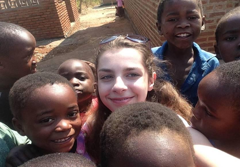 Emily in Malawi