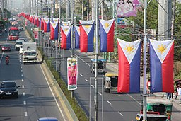 Philippine Flags on Independence_Day